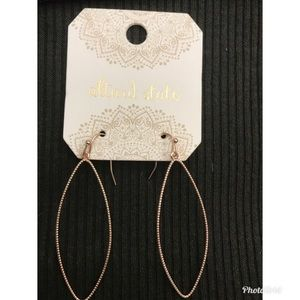 Altar'd State   Gold Hoop Earrings